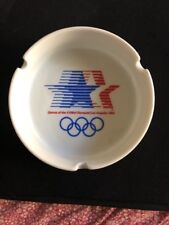 1984 Los Angeles Olympic Games Ashtray XXIIIrd Olympiad Papél Official License