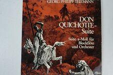 Telemann Don Quichotte Suite für Blockflöte und Orchester Schmidtmann (LP28)