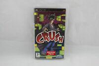 Jeu CRUSH pour PSP (Sony) NEUF sous blister version FR
