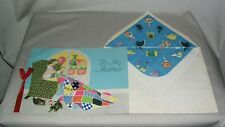 Vintage 1933 Mother's Day Card and Envelope is Used and Signed with great art