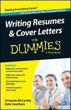Writing Resumes and Cover Letters For Dummies - Australia / NZ McCarthy, Amanda