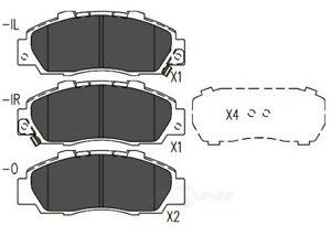 Disc Brake Pad Set-TSS Semi-Metallic Pads Front Dash 4 Brake TD503MH