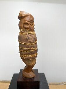 Teke RDC Zaire statue anthropomorphe Stanley Pool tribal art premier Africain