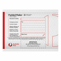 25 Padded Mailer – PM1 – 151mm x 229mm ***FREE EXPRESS POSTAGE***