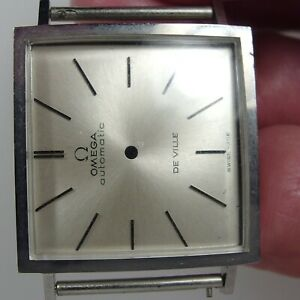 3622 original steel  omega case and dial caliber 711 automatic