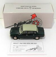 Pathfinder Models 1/43 Scale PFM27 - 1963 Triumph 2000 MK.1 1 Of 600 Green