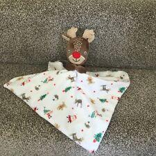 Renna Rudolph Baby succhietto Peluche Natale Christmas Copertina TU