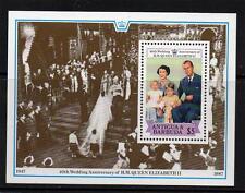 ANTIGUA & BARBUDA MNH 1988 MS1153 ROYAL RUBY WEDDING