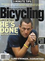 Bicycling Magazine Lance Armstrong 2 Minute Tips Ride Farther Clime Stronger 201