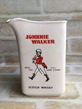 VINTAGE COLLECTABLE JOHNNIE WALKER SCOTCH WHISKY CERAMIC WATER JUG - CWC JAPAN