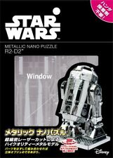 Tenyo Metallic Nano Puzzle 3D Star Wars R2-D2(TM) W-MN-007 from Japan Robot kit