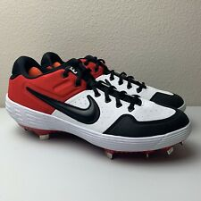Men's Nike Alpha Huarache Elite 2 Baseball Metal Cleats Red AJ6873-106 Size 11.5
