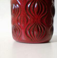 """70s Scheurich """"Amsterdam"""" Keramik Vase 285 15 onion pattern west german ceramic"""