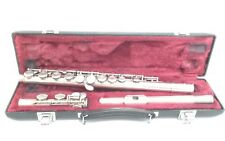 Yamaha Silverplated Flute YFL-225S Nippon Gakki Co LTD Japan w/ Case