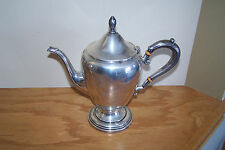Vtg Frank M Whiting Tea or Coffee Pot ~ SILVER