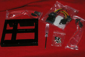 """New Inateck 2.5"""" To 3.5"""" Hard Drive Internal Mounting Kit W/ Data & Power Cable"""