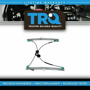 TRQ Power Window Regulator Front LH Driver Side for 01-03 Caravan Voyager TC
