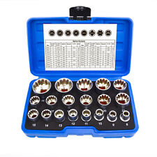"Inch Socket Set Set Harley Multi-Tooth 1/2"" Sockets Tool 5/16 "" - 1-1/4 """