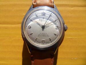 Vintage SWISS BREITLING 17 Jewels Manual Men's Watch,1955's