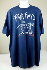 Pink Floyd 2XL MENS LICENSED BLUE SHORT SLEEVE T-SHIRT The Dark Side of The Moon