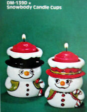 Duncan DM139D Snowbody Candle Cups or Table Favors Ceramic Mold C7