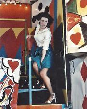 Org Amateur Semi Nude Large (8 x 10) Photo- Funhouse Fun- Skirt- Stockings- #2