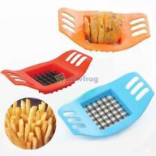 1x French Fry Potato Chip Cut Cutter Vegetable Fruit Slicer Chopper Easy Kitchen