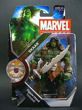 "MARVEL UNIVERSE Collection__SKAAR 4 "" figure with Display Stand__Son of Hulk_MIP"