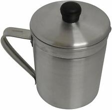 New listing Imusa A004-70011W Aluminum Grease Dispenser with Lid 1.5 Quart