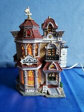 Lemax Spooky Town Mystic Isabella's Psychic Readings - Retired - Works