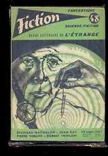 Fiction 48, 11.1957 Richard MATHESON Pierre VERSINS Jean RAY Robert HEINLEIN etc