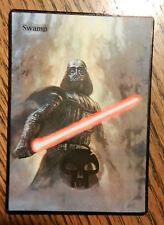MTG altered art  Vader Swamp