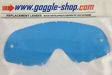 GOGGLE-SHOP REPLACEMENT LENS for OAKLEY CROWBAR MOTOCROSS MX GOGGLES BLUE TINT