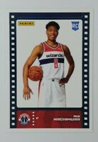 2019-20 Panini Sticker & Card Collection Rui Hachimura Rookie RC #88, Wizards