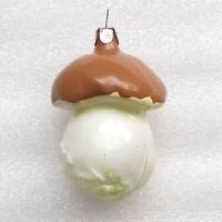 Antiker Russen Alt Christbaumschmuck Glas Weihnachtsschmuck Pilz Old Mushroom