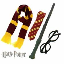 Harry Potter Dress Up Costume Wand, Scarf, Glasses & Tie