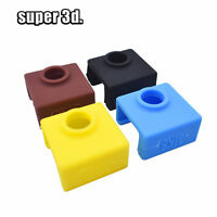 10 PCS MK7/MK8/mk9 Silicone Sock sleeve Heater Block Cover For Extruder Hot End
