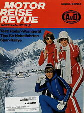 Motor Reise Revue 11 12 1977 Uniroyal Rallye 280 Reifen DDR Mazda Caravan Salon
