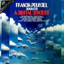 FRANCK POURCEL - CONDUCTS A DIGITAL CONCERT - ANGEL LP + INSERT