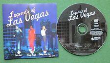 Legends of Las Vegas Tom Jones Gladys Knight Sammy Davis Jnr Judy Garland + CD
