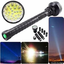 28000LM  21x XM-L LED T6 Super Flashlight Torch Lamp Light 5Mode 26650 18650