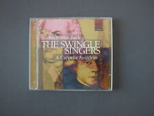 CD THE SWINGLE SINGERS - Bach Hits Back - A Cappella Amadeus - 2 CDs