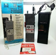 New ListingVintage 1968 Realistic Trc-100 5 watts 6 channel Cb radio/transceiver Cat#21-132