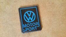 VW Golf 2 VW Motorsport Heckemblem blau G60 GTI Tuning Limited Edition Emblem
