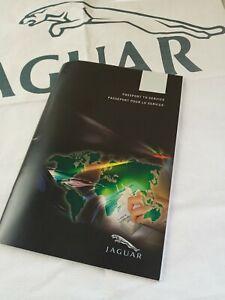New Old Stock Passport To Service Handbook Jaguar Car's