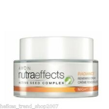 AVON nutra effects Radiance regenerierende Nachtcreme ohne Parabene NEU