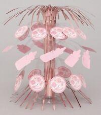 Baby Shower Baby Lovely Pink Stitching Cascade Centrepiece Decoration  .24246