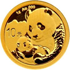 China panda 1g moneda de oro 1 g de oro 2019 1 gramos soldado