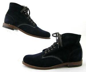*NEW!* Wolverine Original 1000 Mile Boots Blue Nubuck 10D / USA Made MSRP $385
