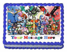 "POKEMON Group poster Edible image Cake topper decoration 7.5:""x10"""